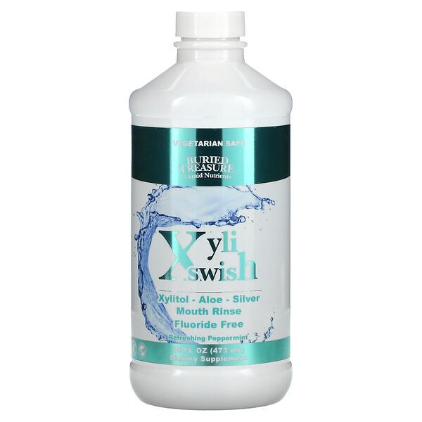 XyliSwish, Mouth Rinse, Refreshing Peppermint, 16 fl oz (473 ml)