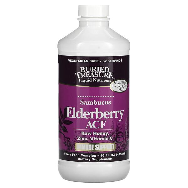 Elderberry ACF, Immune Support, 16 fl oz (473 ml)