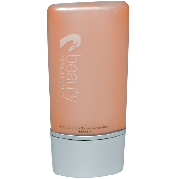 Beauty Without Cruelty, Natural Look Tinted Moisturizer, Fragrance Free, Light 1, 1.1 fl oz (30 ml) (Discontinued Item)