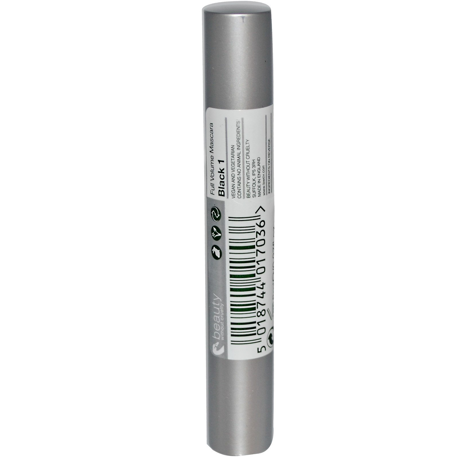 d7c344f1aa3 Beauty Without Cruelty, Full Volume Mascara, Black 1, 0.27 fl oz (8 ml)  (Discontinued Item)