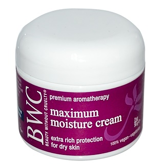 Beauty Without Cruelty, Maximum Moisture Cream, 2 oz (56 g)