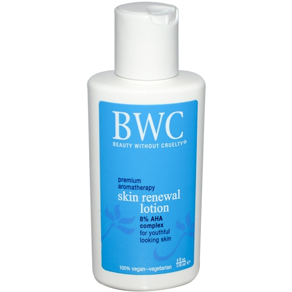 Beauty Without Cruelty, Skin Renewal Lotion, 4 fl oz (118 ml) (Discontinued Item)
