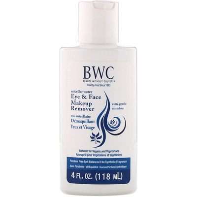 Eye & Face Makeup Remover, Extra Gentle, 4 fl oz (118 ml)