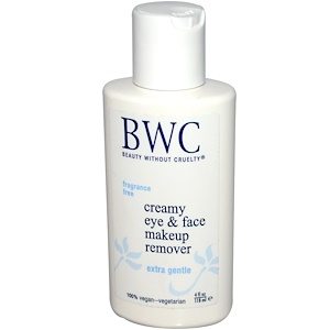 Бьюти Визаут Круэлти, Creamy Eye & Face Makeup Remover,  4 fl oz (118 ml) отзывы покупателей