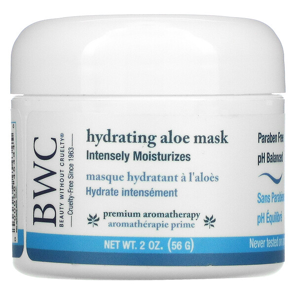 Beauty Without Cruelty, Hydrating Aloe Mask, 2 oz (56 g)