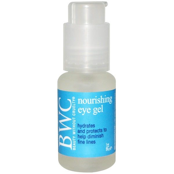 Beauty Without Cruelty, Nourishing Eye Gel, 1 oz (28 g) (Discontinued Item)