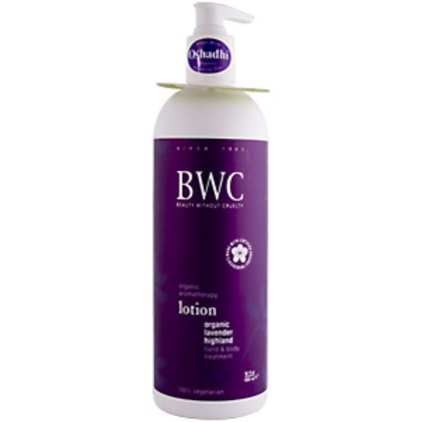 Beauty Without Cruelty, Organic Lavender Highland Lotion, 16 fl oz (450 ml) (Discontinued Item)