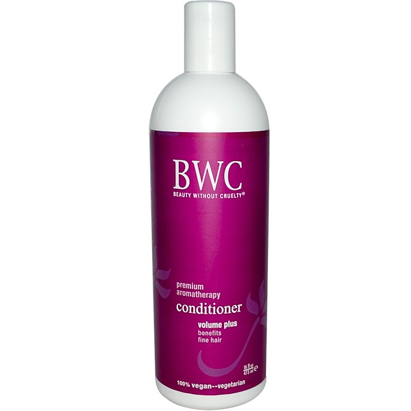 Beauty Without Cruelty, Conditioner, Volume Plus, 16 fl oz (473 ml) (Discontinued Item)