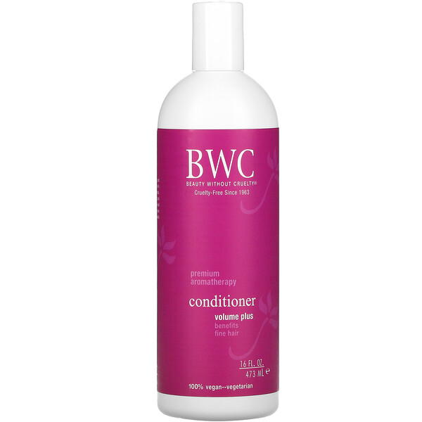 Beauty Without Cruelty, Conditioner, Volume Plus, 16 fl oz (473 ml)