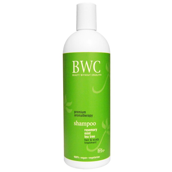 Beauty Without Cruelty, Shampoo, Alecrim, Hortelã, Árvore do Chá, 473 ml