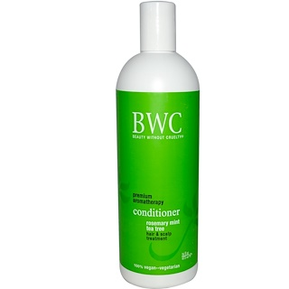 Beauty Without Cruelty, Conditioner, Rosemary Mint Tea Tree, 16 fl oz (473 ml)