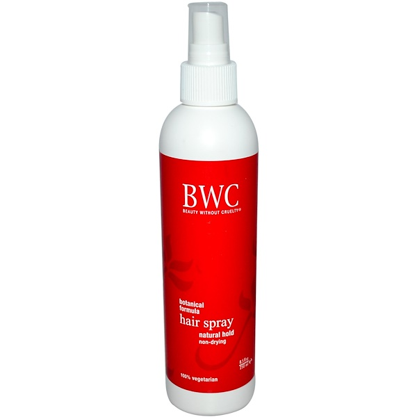 Beauty Without Cruelty, Espray para el cabello, mantensión natural, 250 ml (8,5 fl oz)