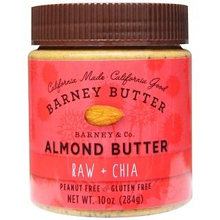 Barney Butter, Almond Butter, Raw & Chia, 10 oz (284 g)