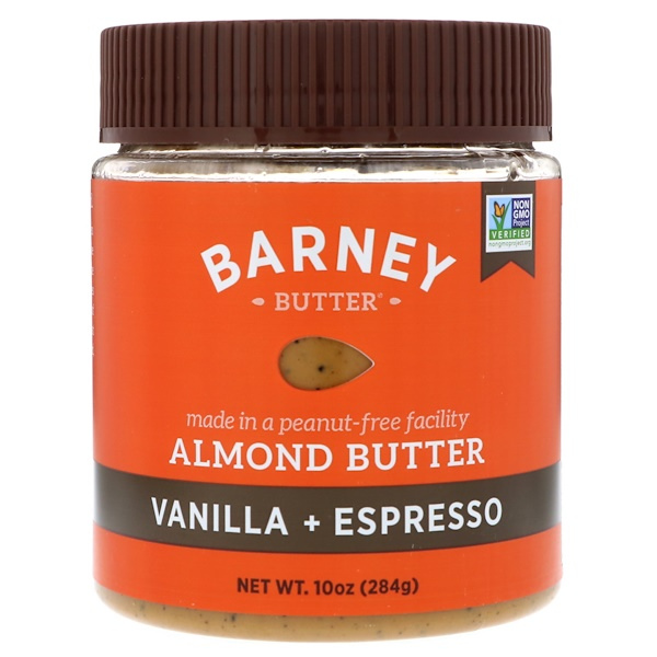Barney Butter, Almond Butter, Vanilla + Espresso, 10 oz (284 g) (Discontinued Item)