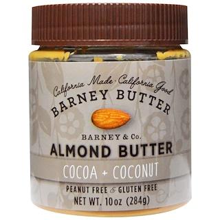 Barney Butter, Barney Butter, Almond Butter, Cocoa + Coconut, 10 oz (284 g)