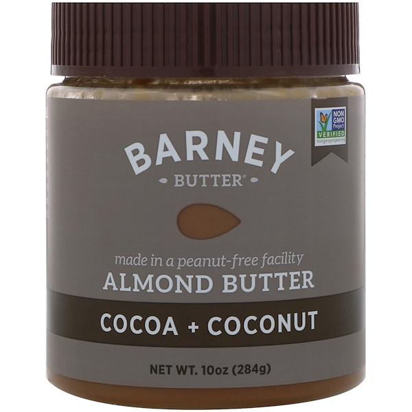 Barney Butter, Масло Барни, миндальное масло, какао + кокос, 10 унций (284 г) (Discontinued Item)