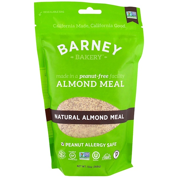 Almond Meal, Natural Almond Meal, 13 oz (368 g)