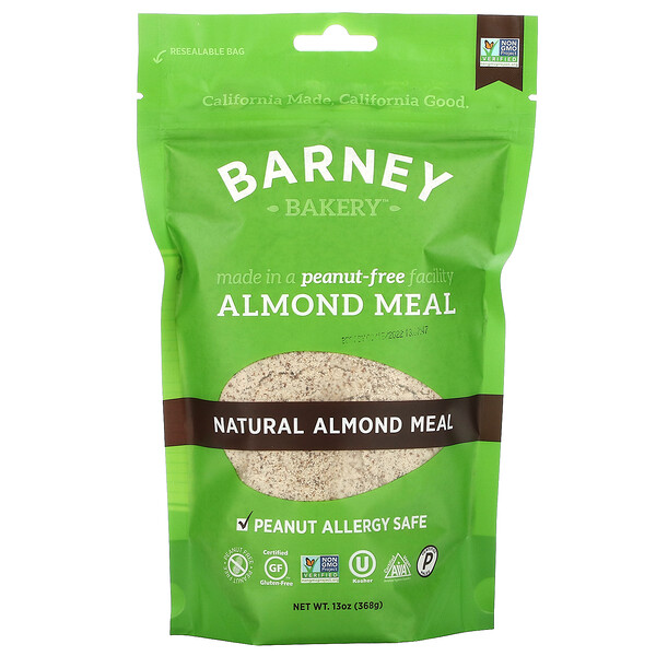 Natural Almond Meal, 13 oz (368 g)