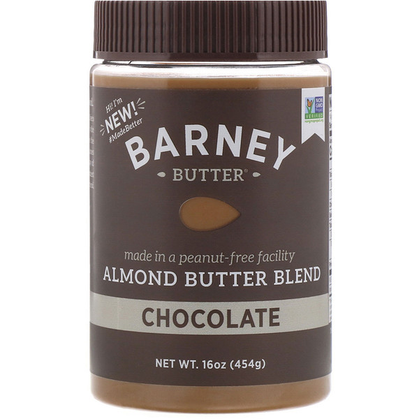 Barney Butter, Barney Butter, Almond Butter Blend, Chocolate, 16 oz (454 g) (Discontinued Item)