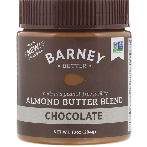 Almond Butter Blend, Chocolate, 10 oz (284 g)