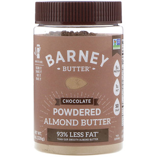 Barney Butter, Powdered Almond Butter, Chocolate, 8 oz (226 g)