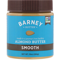 Barney Butter, 아몬드 버터, 스무스, 10 온스 (284 g)