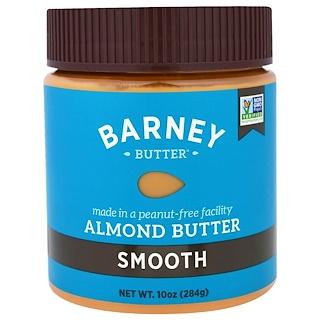 Barney Butter, Almond Butter, Smooth, 10 oz (284 g)