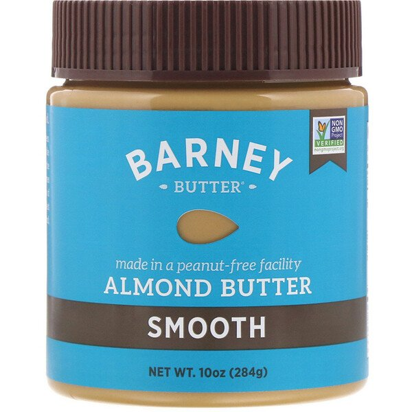 Almond Butter, Smooth, 10 oz (284 g)