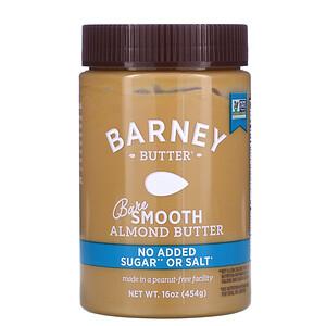 Barney Butter, Manteiga de Amêndoas Peladas, Lisa, 16 oz (454 g)