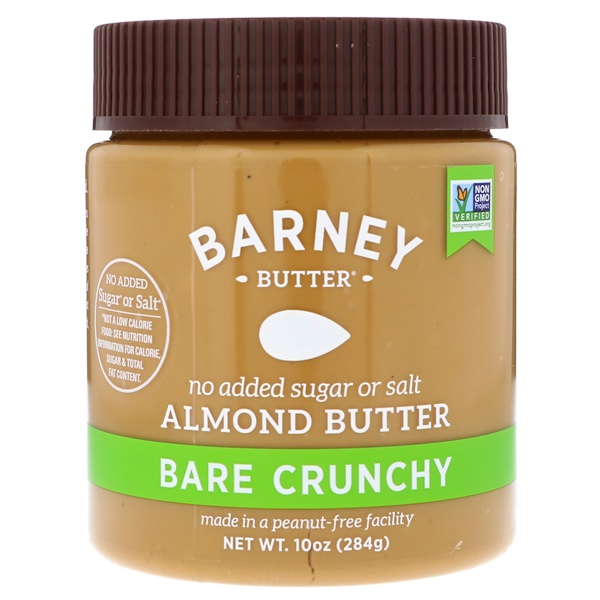 Barney Butter, Almond Butter, Bare Crunchy, 10 oz (284 g) (Discontinued Item)
