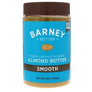 Barney Butter, زبدة اللوز الناعمه ١٦ أونصه (أوقيه ) ٤٥٤غرام