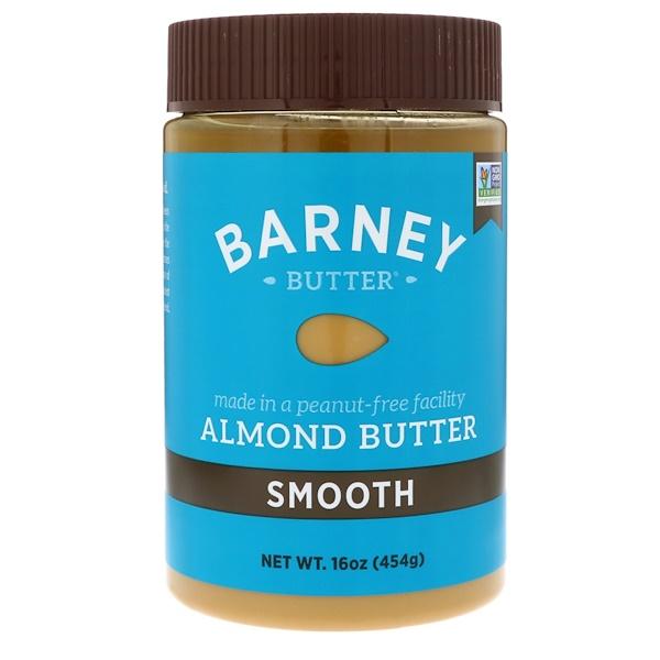 Barney Butter, 杏仁黃油,光滑,16盎司(454克)
