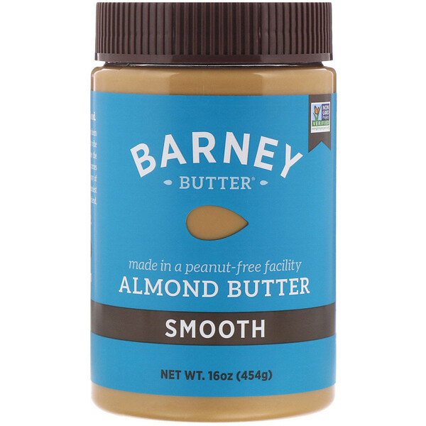 Almond Butter, Smooth, 16 oz (454 g)