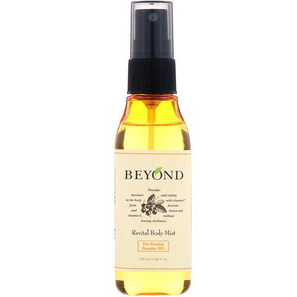 Beyond, Revital Body Mist, 3.38 fl oz (100 ml)