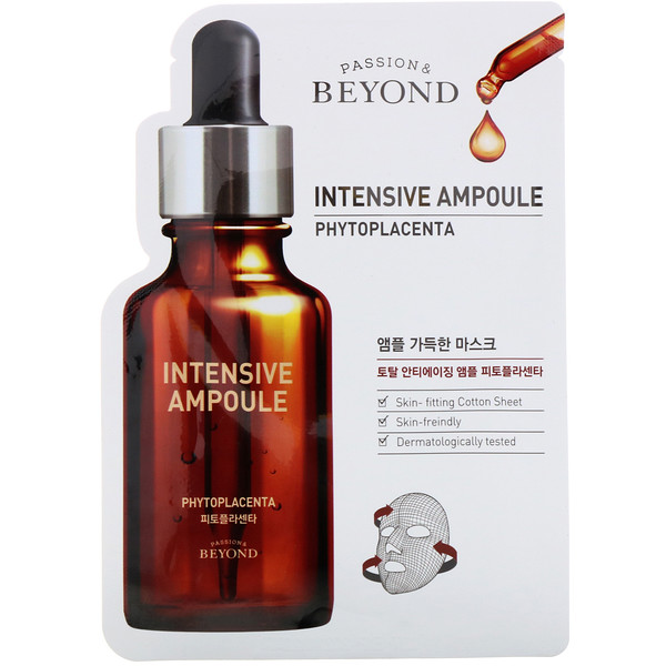Beyond, Intensive Ampoule, Phytoplacenta Mask, 1 Sheet, 0.74 fl oz (22 ml)
