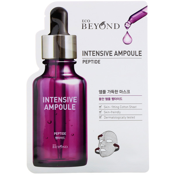 Intensive Ampoule, Peptide Beauty Mask, 1 Sheet, 0.74 fl oz (22 ml)