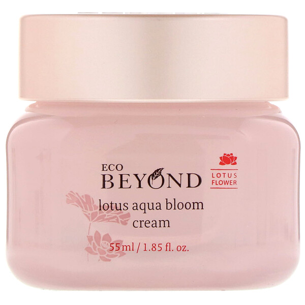 Lotus Aqua Bloom Cream, 1.85 fl oz (55 ml)