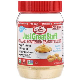 Betty Lou's, Just Great Stuff, Powdered Organic Peanut Butter, The Original, 6.35 oz (180 g)