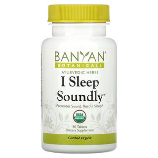 Banyan Botanicals, I Sleep Soundly, 90 Tablets