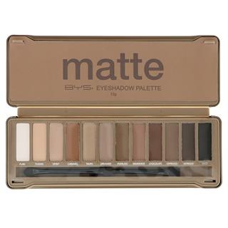 BYS, Matte, Eyeshadow Palette, 12 g