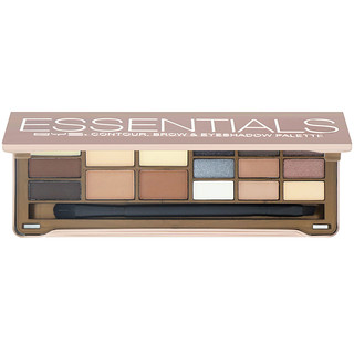BYS, Essentials, Contour, Brow & Eyeshdow Palette, 15 g