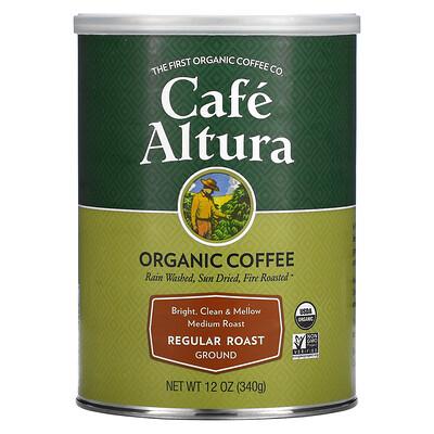 Купить Cafe Altura Organic Coffee, Regular Roast, Medium Roast, Ground, 12 oz (340 g)