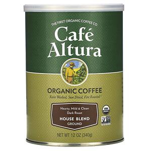 Кафе Алтура, Organic Coffee, House Blend, Dark Roast, Ground, 12 oz (340 g) отзывы покупателей