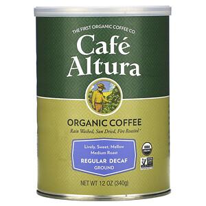 Кафе Алтура, Organic Coffee, Regular Decaf,  Medium Roast, Ground, 12 oz (340 g) отзывы покупателей