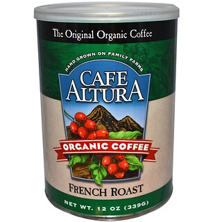 Cafe Altura, Organic Coffee, French Roast, 12 oz (339 g)