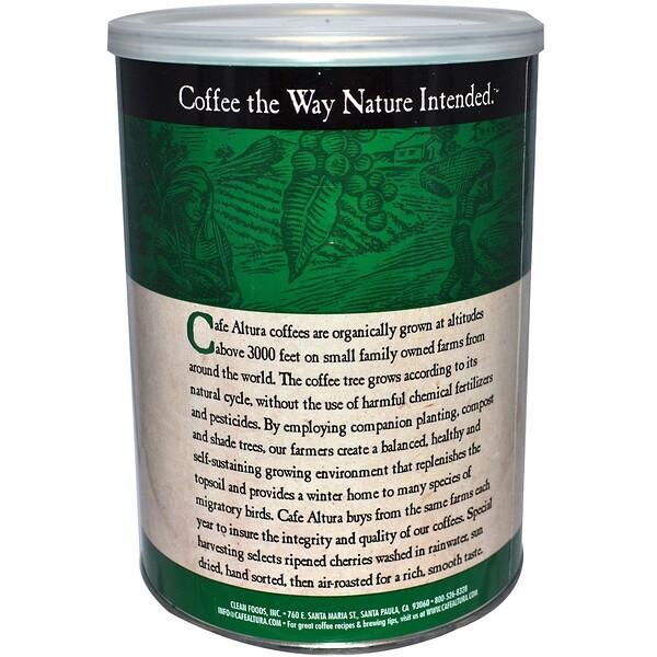 Cafe Altura, قهوة عضوية، فرنسية محمصة، 12 أونصة (339 غ)