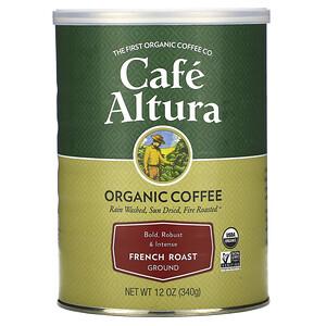 Кафе Алтура, Organic Coffee, French Roast, Ground, 12 oz (340 g) отзывы покупателей
