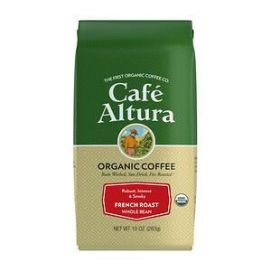 Кафе Алтура, Organic Coffee, French Roast, Whole Bean, 10 oz (283 g) отзывы