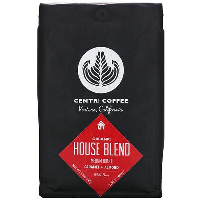 Купить Cafe Altura Organic Centri Coffee, House Blend, Medium Roast, Whole Bean, Caramel + Almond, 12 oz (340 g)