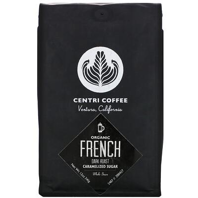 Купить Cafe Altura Organic Centri Coffee, French, Dark Roast, Whole Bean, Caramelized Sugar, 12 oz (340 g)